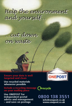 ONEPOST Trade Press Ad -